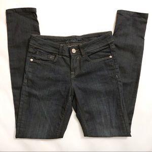 Zara Denim Dark Blue Indigo Skinny Jeans sz 6